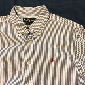 Ralph Lauren shot sleeve button shirt